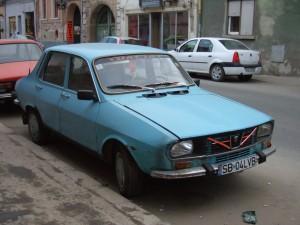 babyblauer Dacia