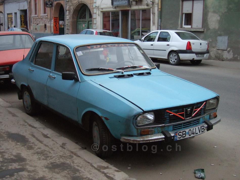 Dacia in Sibiu, Rumänien