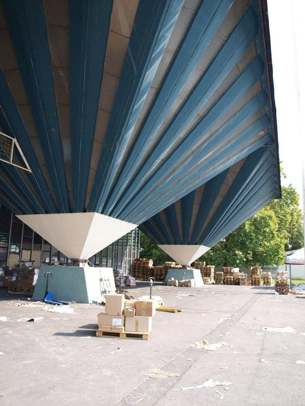 Messe Zagreb, Italienischer Pavillon Avenija Dubrovnik, Zagreb 1961, Architekt: Giuseppe Sambito