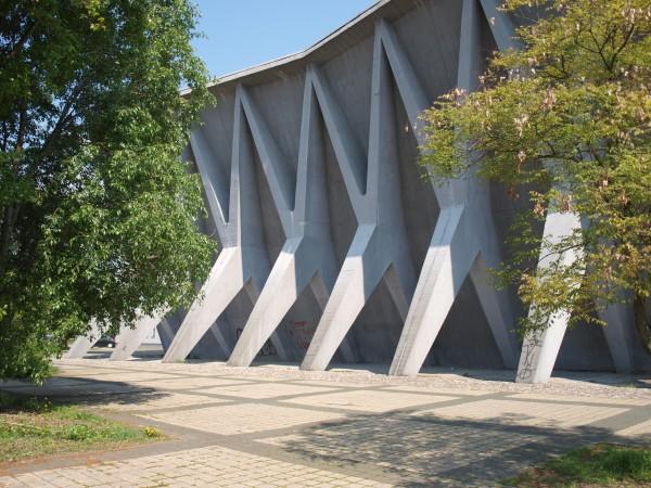 Ivan Vitić: Pavillon 40 Zagreb Fair, 1956