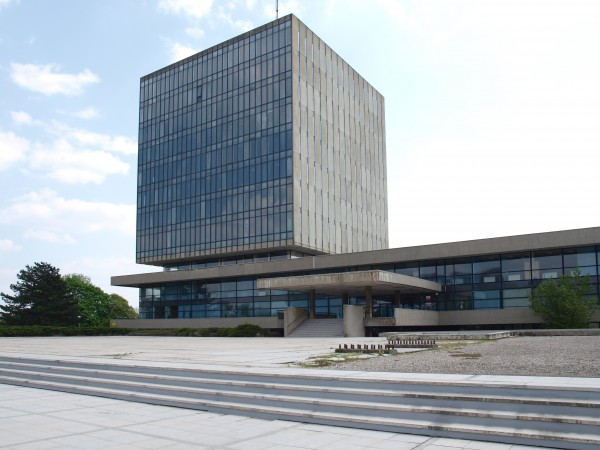 Ivan Vitić: KPH Building, Zagreb 1961 - 68
