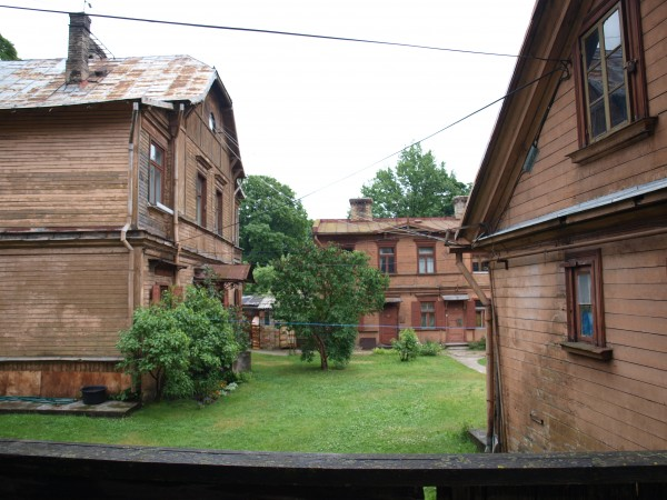 riga wooden houses